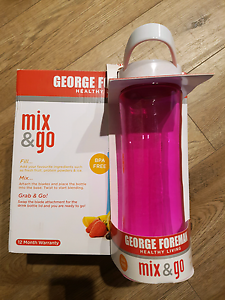 George Foreman Mix & Go Blender plus additional bottle Isabella Plains Tuggeranong Preview