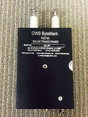 6:1 Balun for 300 ohms balanced antenna to 50 ohms co-axial. Jerry Sevick W2FMI