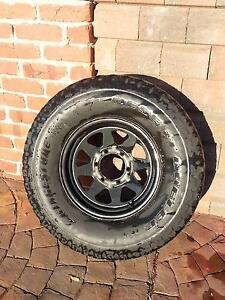 Spare wheel - sunraysia with 15x10.5 tyre desert dueler Para Hills Salisbury Area Preview