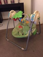 Fisher Price Rainforest Open Top Take Along Swing. Aspendale Gardens Kingston Area Preview