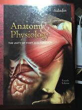 Anatomy and Physiology (Saladin) fourth edition Augustine Heights Ipswich City Preview