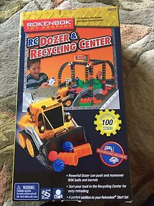 Rokenbok RC Dozer and Recycling