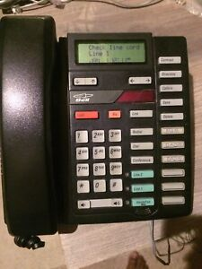 Meridian Nortel 2 line phone.