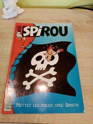 Journal Spirou n° 2965 de 1995 avec l'encart publicitaire