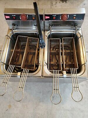 Cecilware Deepfryer 220 Power Used Good Condition Still Works