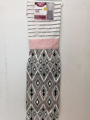Better Homes and Gardens Woman's Cooking Apron Modern Aztec With Front Pocket  (Best Pink Apron With Pockets)