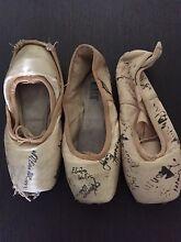 Ballet Points signed by Artists of the Australian Ballet Hurstville Hurstville Area Preview