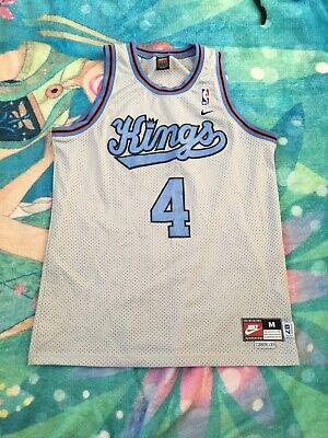 Chris Webber #4 Nike Rewind Sacramento Kings 87 Medium Men's Nike NBA Jersey