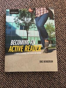Textbook - Becoming An Active Reader by Eric Henderson