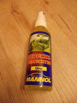 MANNOL Geruchsvernichter / Geruchskiller Auto Tier Lufterfrischer Citrus