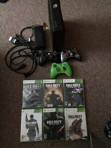 X-Box 360 250GB with modded controller