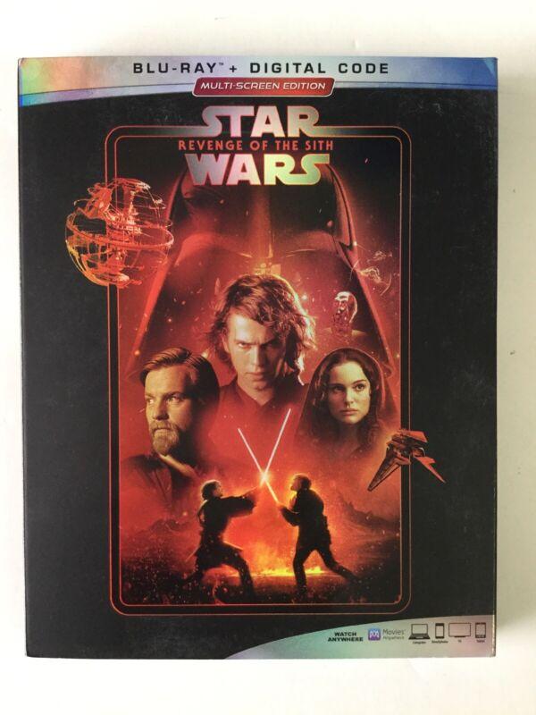 Star Wars Episode Iii Revenge Of The Sith Blu Ray Digital Brand New Sealed