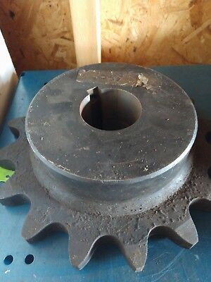"""Martin 80BS14 1-1//4 Sprocket 14T 1-1//4/"""" Bore Keyed New And Free Shipping"""