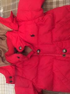 Ralph Lauren puffer winter coat