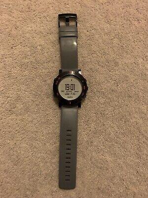 Unisex Suunto Core Outdoor Digital Watch, Grey Strap, Black Face