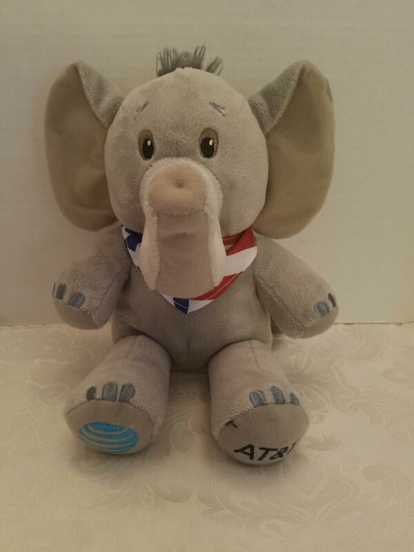 RARE 2016 AT&T CLEVELAND RUBLICAN NATIONAL CONVENTION TRUMP PENCE ELEPHANT PLUSH
