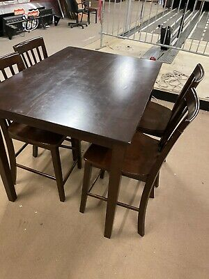Bulk Lot Of Bar Height Tables And Chairs