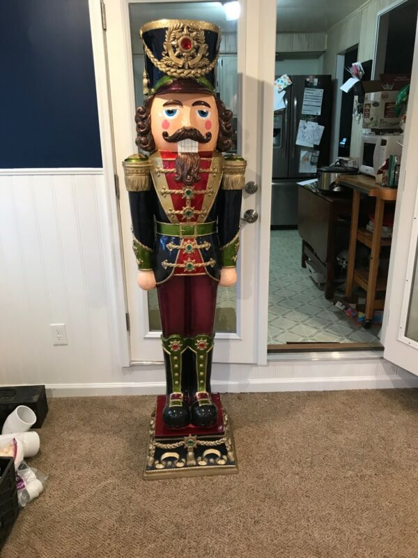 """6' 2"""" Nutcracker. Hand Made. Hand Painted. Excellent Condition."""