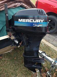 1997 mercury 40hp sea pro tiller