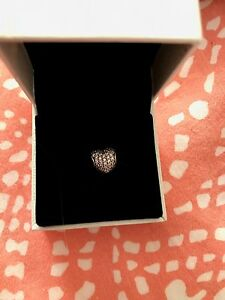 Pink heart pandora charm for sale
