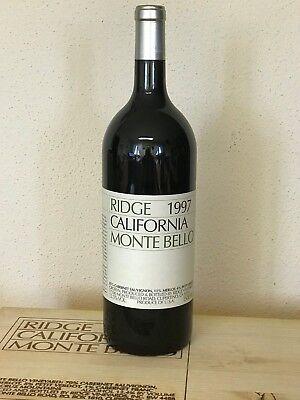 RIDGE 1997 Monte Bello Magnum Flasche 1,5 Liter - Rotwein aus Kalifornien