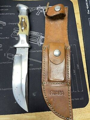 ruana custom knife Vintage Case Marbles