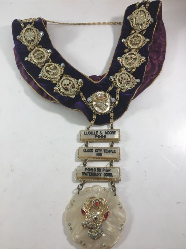 Elks Lodge Reggata Necklace