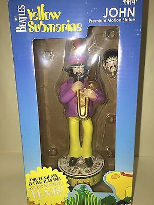 BEATLES JOHN LENNON 1 doll Statue Figurine BOBBLE HEAD Band Yellow Submarine