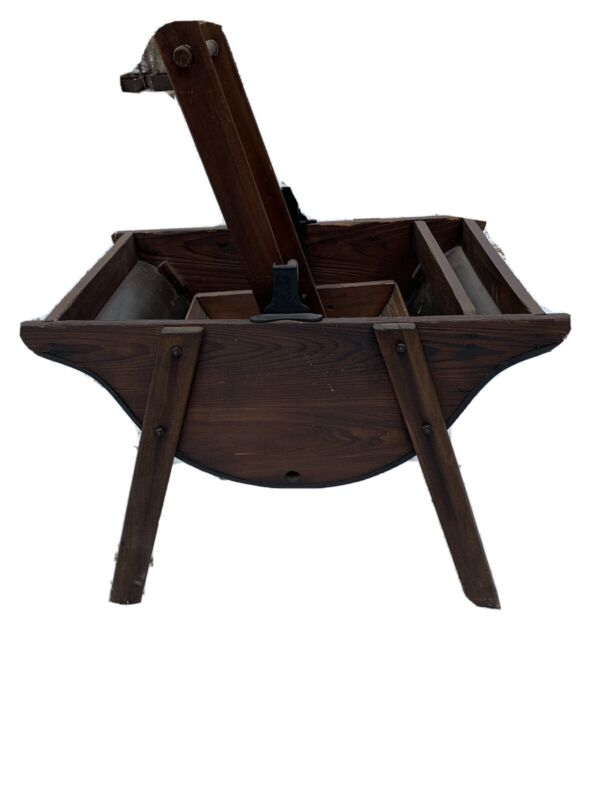 Antique Primitive Washing Machine Quick & Easy, Wooden Clothes Washer