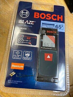 Bosch Blaze Glm 20 X 65ft Laser Measure Sealed