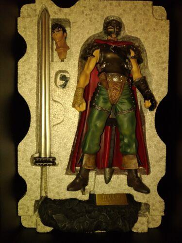 Berserk Guts Hawk Soldiers Cold Cast Statue Swords Man Lost Children Art of War