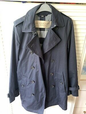 Burberry Brit trench coat jacket rain coat size in photos by tape 100% authentic