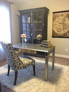 Hayworth Mirror Desk and Chair from Pier 1
