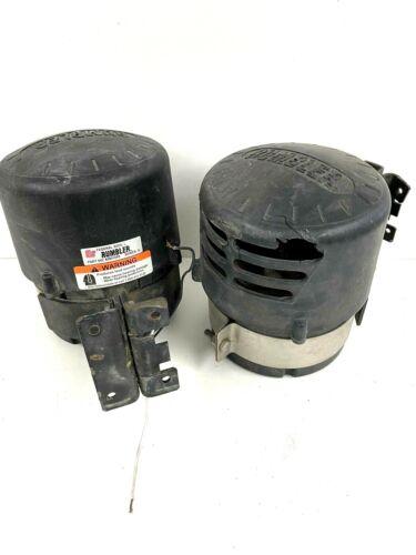 Set of 2 - Federal Signal Rumbler Siren Speakers Series A / Part No. 82831059