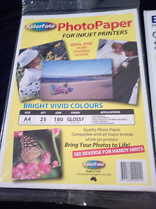 Photo paper, glossy, 48 pc Forest Hill Lockyer Valley Preview