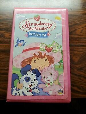 Strawberry Shortcake - Best Pets Yet, TESTED VHS Tape, 2004,