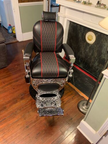 Antique Theo Kochs Barber Chair Restored