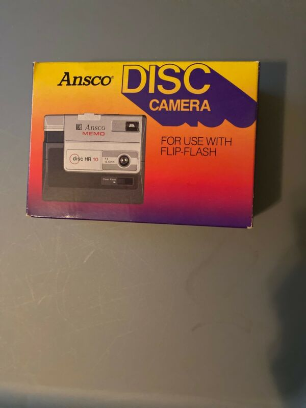ANSCO MEMO disc HR10 Camera Flip Flash. Vintage 12.5mm  New-never Out Of Box!