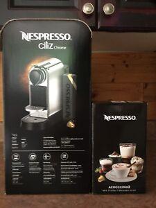 Machine Nespresso Citiz neuve jamais ouverte