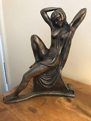 Frith sculpture Reclining Nude very Art Deco