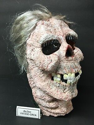 Dead Grandma Halloween (*RARE* Dead Old Woman Grandma Zombie Hitchcock PSYCHO MOM Bates Halloween)