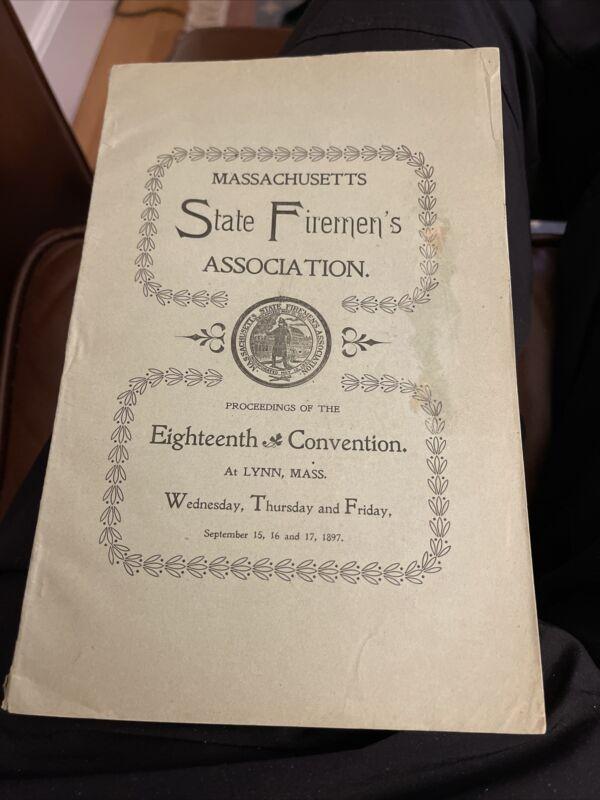 1897 Massachusetts Firemen