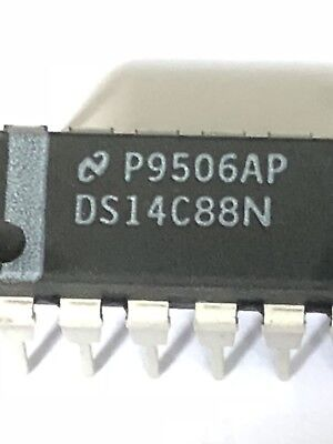 25 pieces x National Semiconductor DS14C88N IC Interface 14C88/DS14C88N
