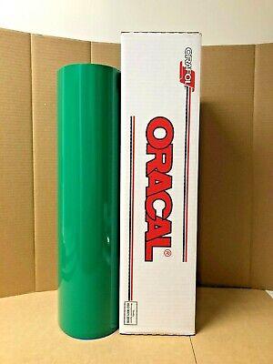 Oracal 651 1 Roll 24 X 50yd 150ft Green 061 Gloss Sign Vinyl