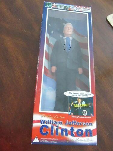 NIB President Clinton William Bill Jefferson Clinton Talking Doll