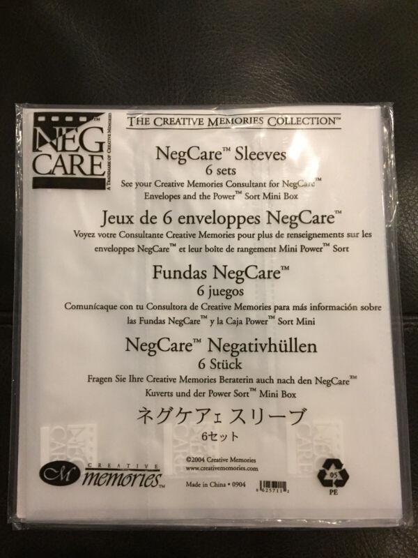 LOT Creative Memories NegCare Sleeves Envelopes Neg Care