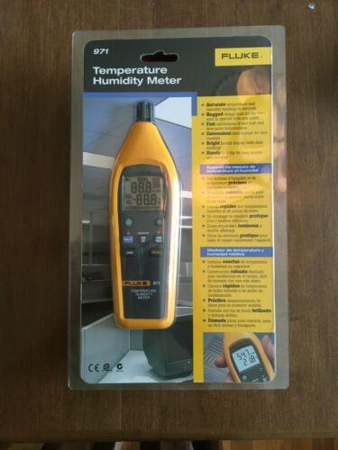 Fluke 971 Temperature Humidity Meter Tester Psychrometer
