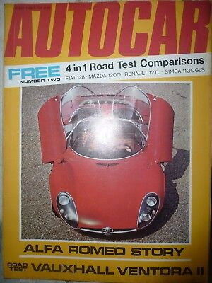 AUTOCAR 70/09/10 VAUXHALL VENTORA OPEL MANTA FORD CAPRI FIAT 500 CITROEN DYANE for sale  Shipping to South Africa