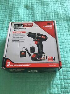 Ozito home drill driver