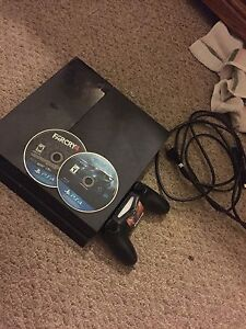 PS4 500GB 1 controller 2 games